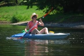 Virginie Kayak Dordogne