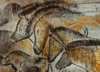 pont d'arc horses